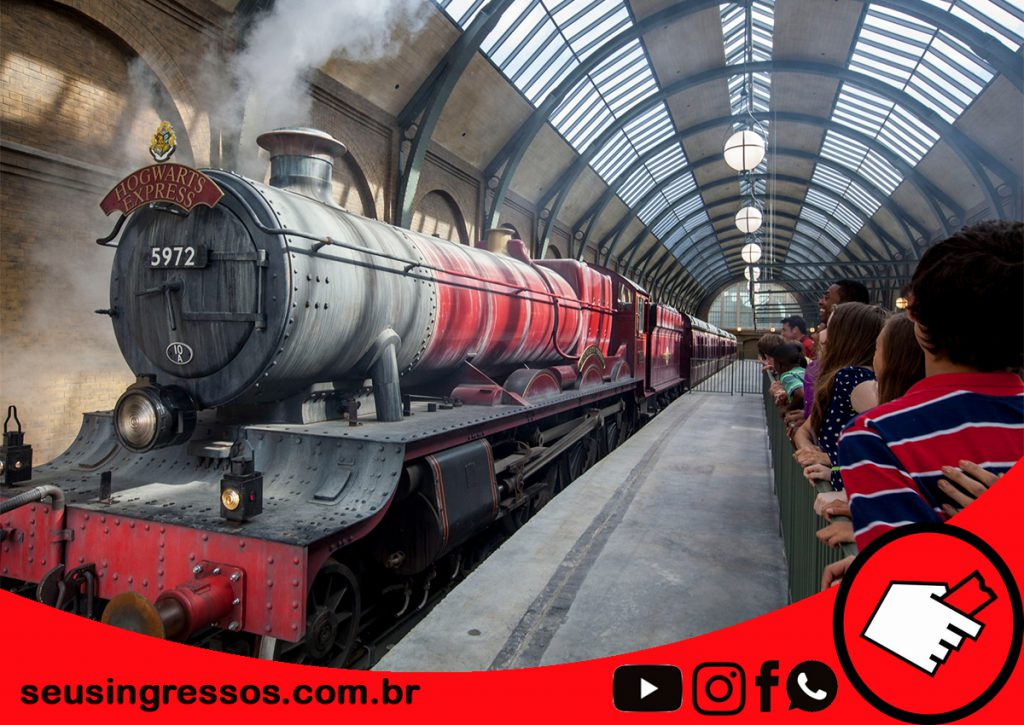 The Wizarding World of Harry Potter - trem