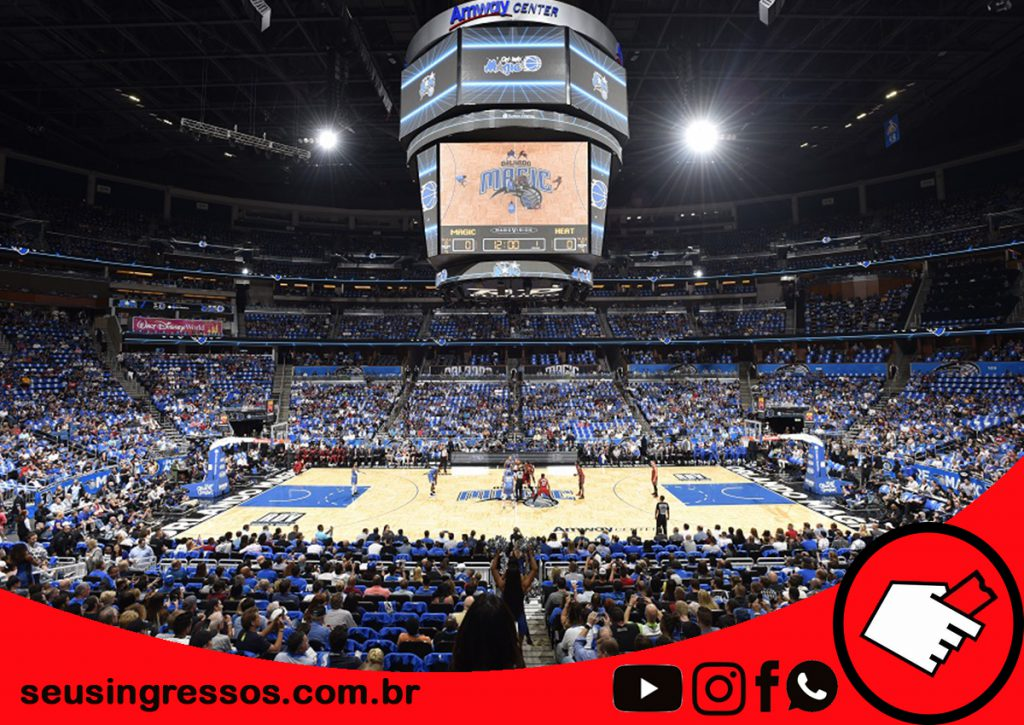 basquete com Orlando Magic