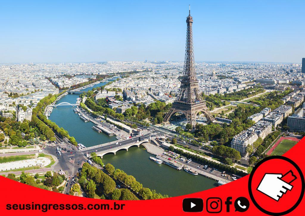 atrações em Paris